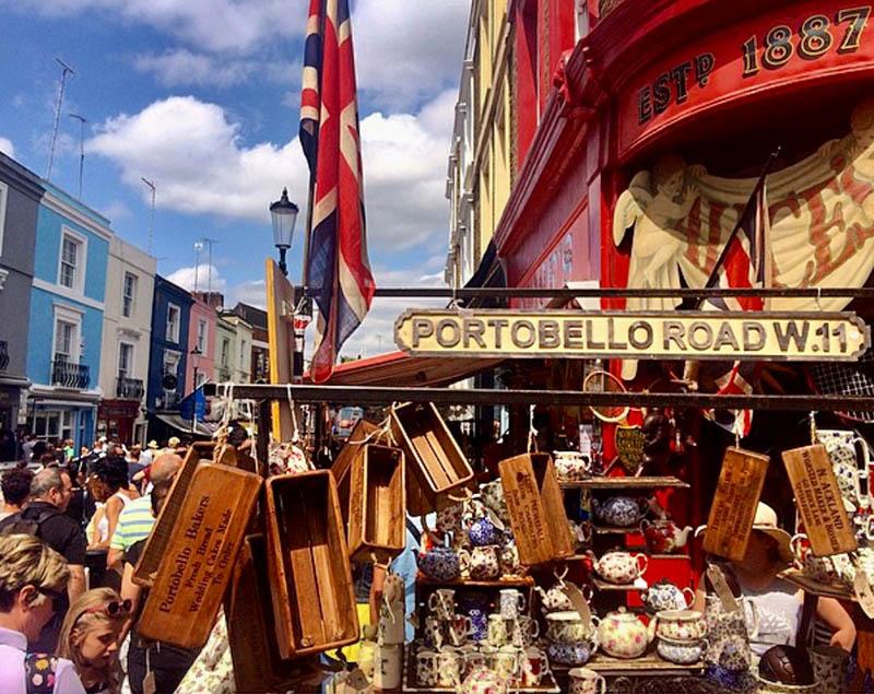portobello road bric a brac shop