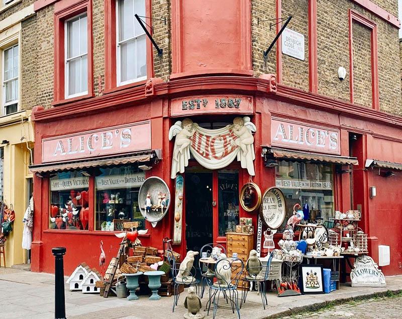 portobello road antiques shop